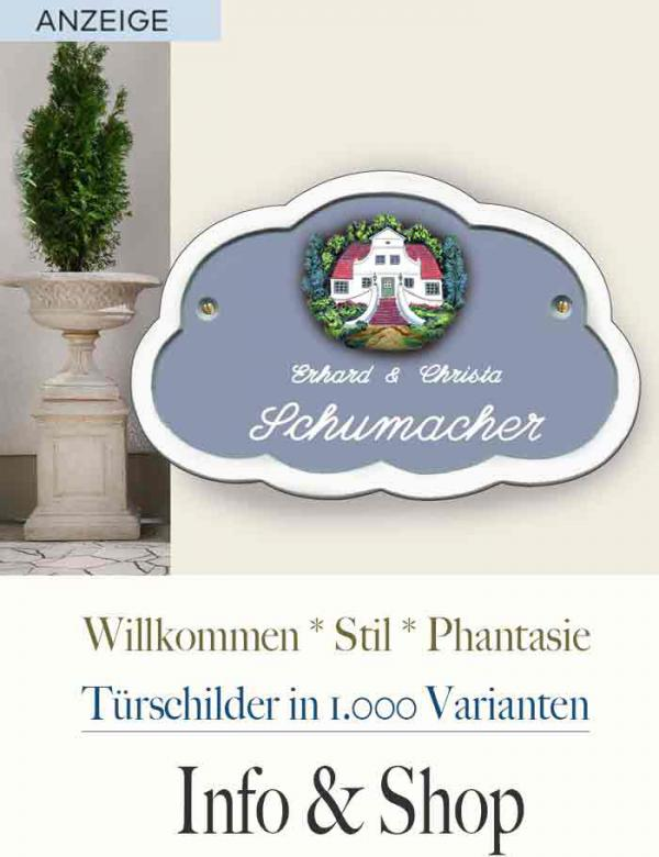 Tuerschilder Shop