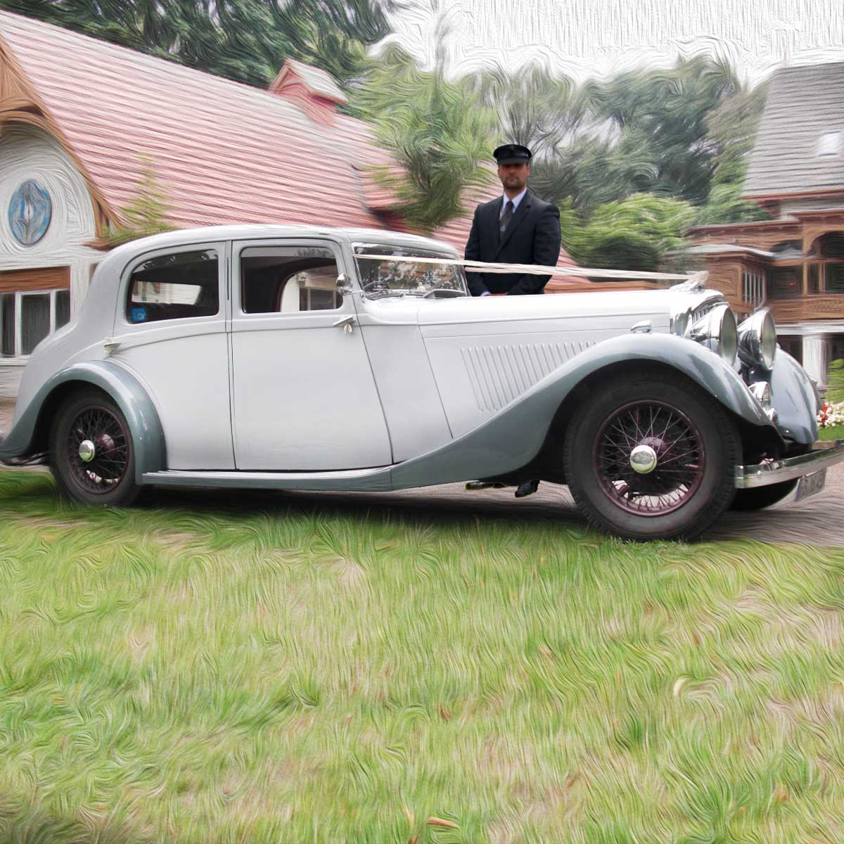 Bentley 3,5 Litre mit Chauffeur