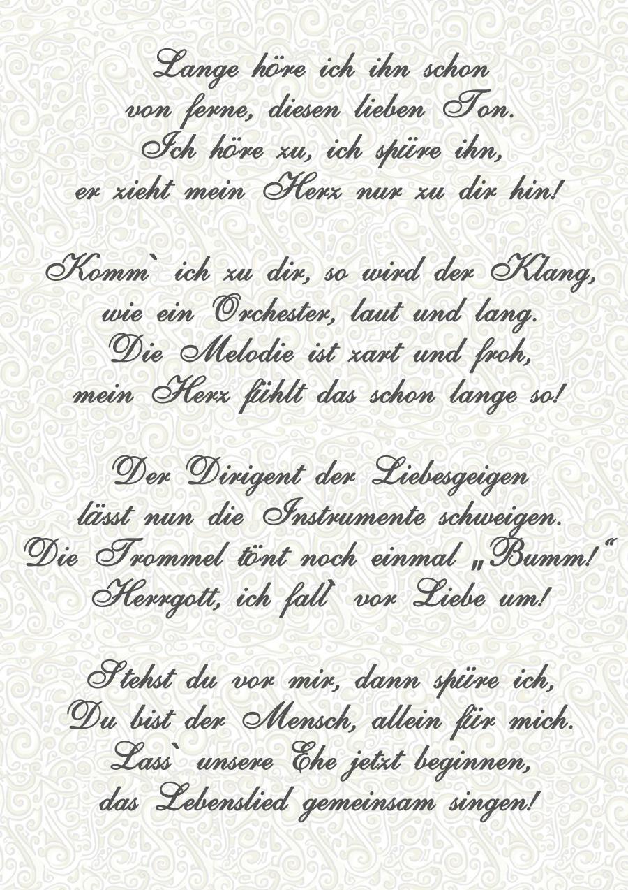Liebesgedichte für ihn deutsch